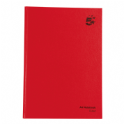 5 Star Office Manuscript Hardback Notebook A4
